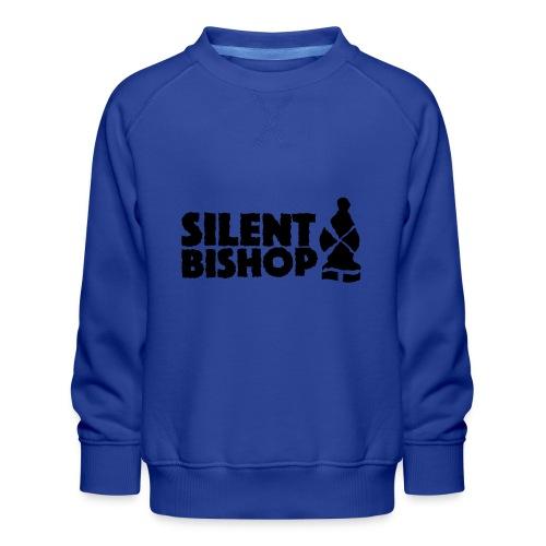 Silent Bishop Logo Groot - Kinderen premium sweater