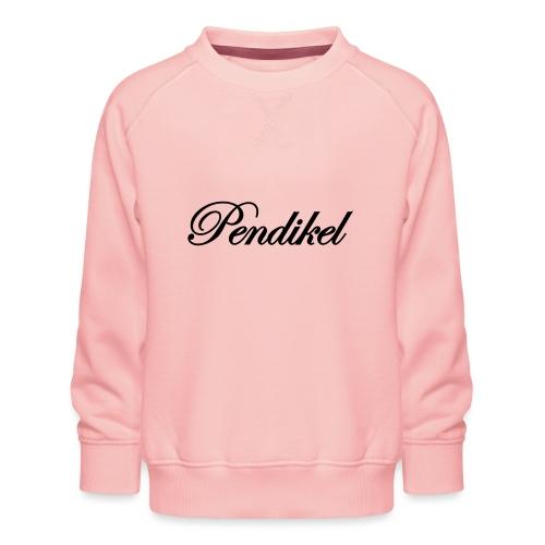 Pendikel Schriftzug (offiziell) Buttons & - Kinder Premium Pullover