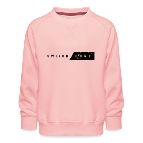 Switchbone_black - Kinderen premium sweater