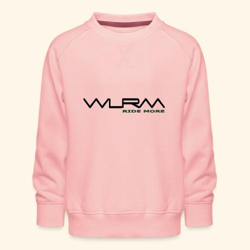 WLRM Schriftzug black png - Kinder Premium Pullover