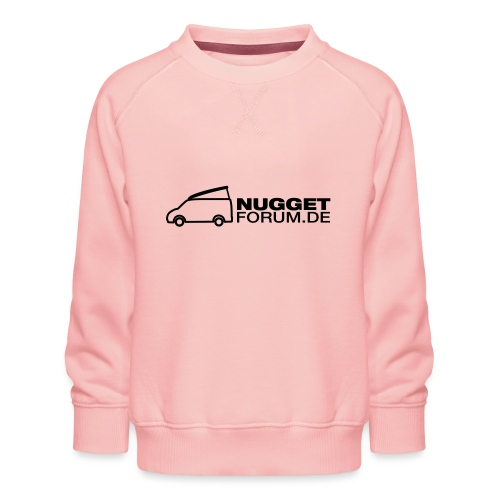 Nuggetforum Aufkleber Auf - Kinder Premium Pullover
