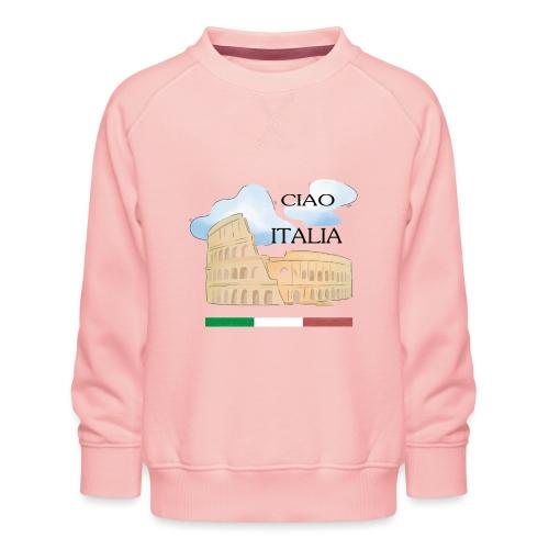 hello italy T-Shirts - Kids' Premium Sweatshirt