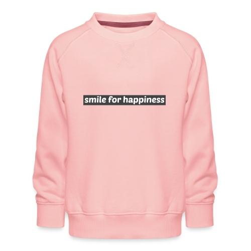 smile for happiness - Premiumtröja barn