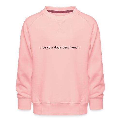 GoodBad svart CMYK (1) - Kids' Premium Sweatshirt