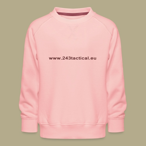 .243 Tactical Website - Kinderen premium sweater