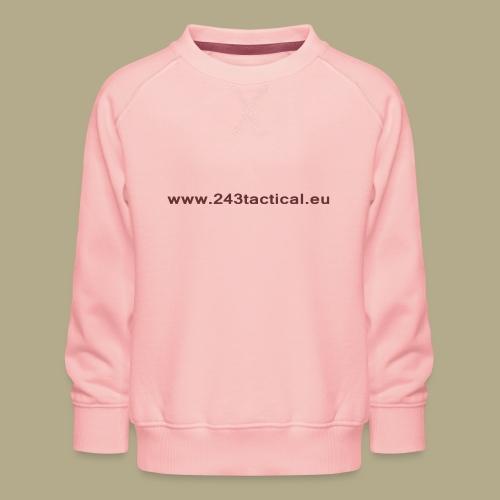 .243 Tactical Website - Kinderen premium sweater