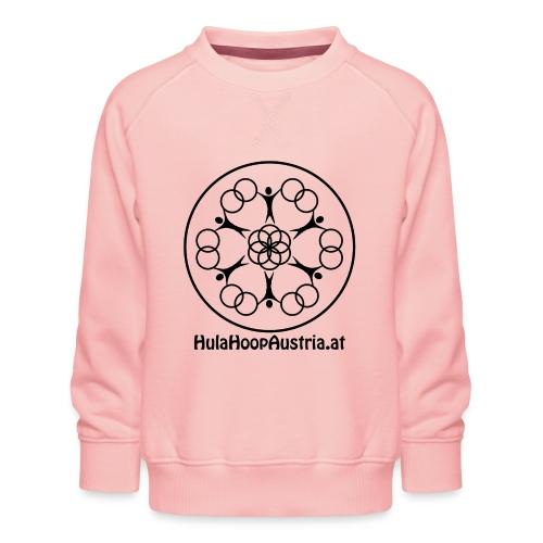 Hula Hoop Austria Logo Black - Kinder Premium Pullover