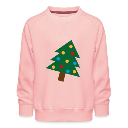 Weihnachtsbaum für hässliche Weihnachten - Kinder Premium Pullover
