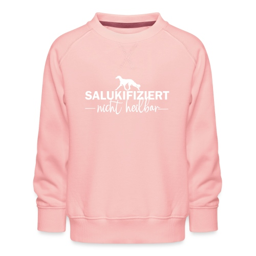 Saluki - nicht heilbar - Kinder Premium Pullover