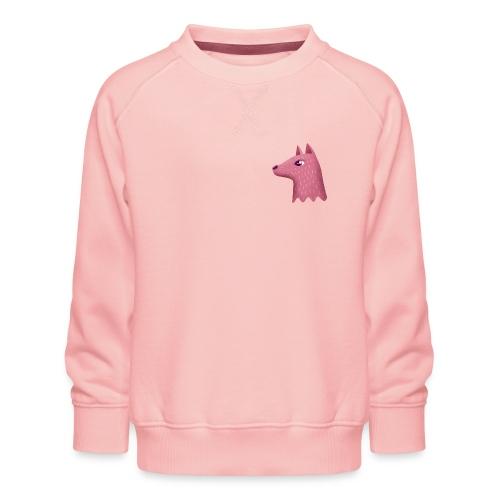 Ce n'est pas un loup - Børne premium sweatshirt