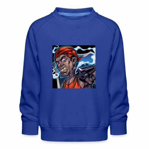 Crooks Graphic thumbnail image - Sweat ras-du-cou Premium Enfant