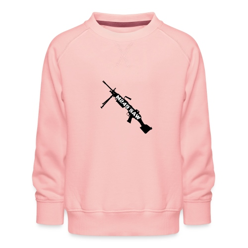 M249 SAW light machinegun design - Kinderen premium sweater