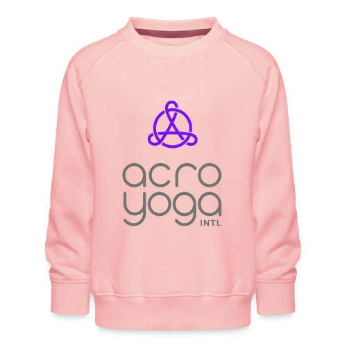 AcroYoga International Logo - Kids' Premium Sweatshirt