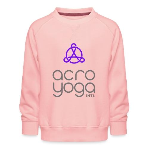 AcroYoga International Logo - Kids' Premium Sweatshirt