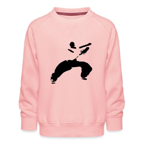 kung fu - Kids' Premium Sweatshirt