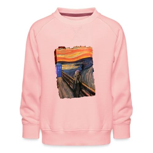 Screaming Tardis - Kids' Premium Sweatshirt