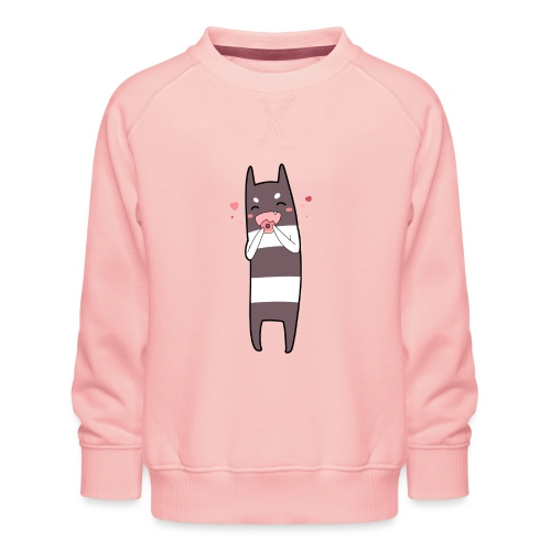 Donut Monster - Kids' Premium Sweatshirt