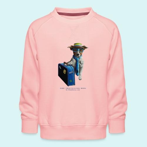 The Traveling Dog - Kids' Premium Sweatshirt