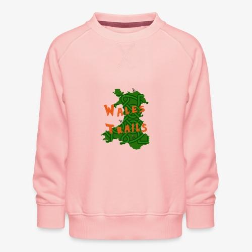 Wales Trails - Kids' Premium Sweatshirt