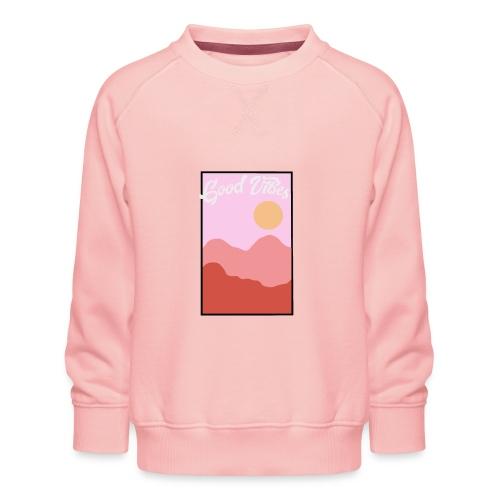 Good vibes - Kinderen premium sweater