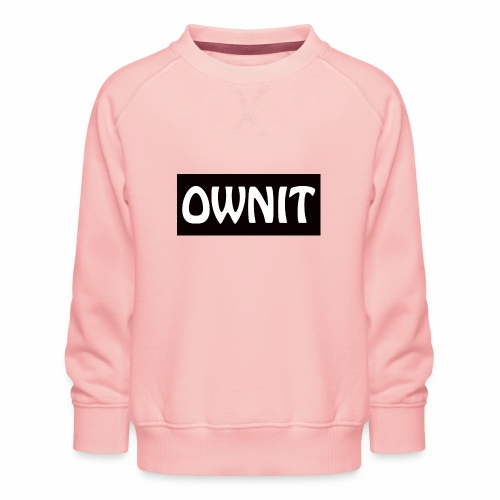 OWNIT logo - Kids' Premium Sweatshirt