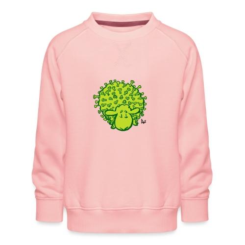 Virus får - Børne premium sweatshirt