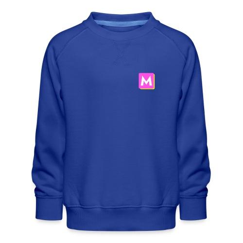 ByMINA logo - Børne premium sweatshirt