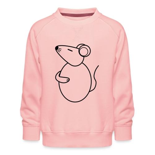 Rat - just Cool - sw - Kinder Premium Pullover