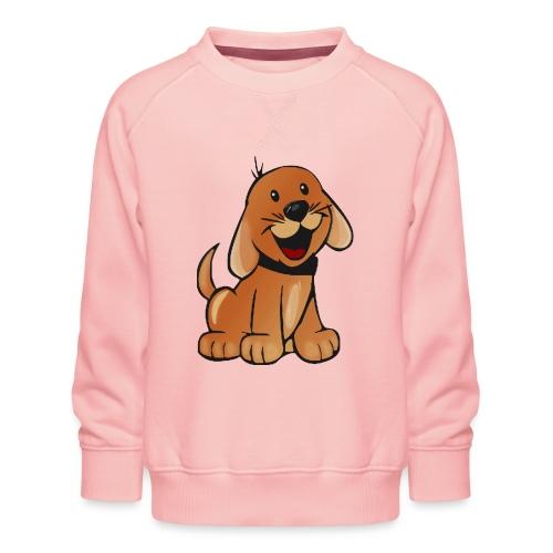 cartoon dog - Felpa premium da bambini