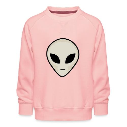 UFO Alien Head - Kids' Premium Sweatshirt