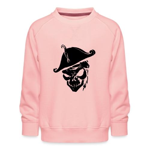 pirate skull - Kinderen premium sweater