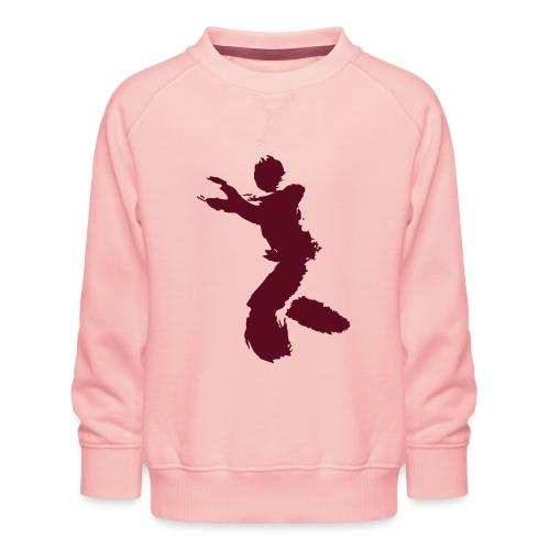 Wing Chun / Kung Fu Tusche Figur VEKTOR - Kids' Premium Sweatshirt