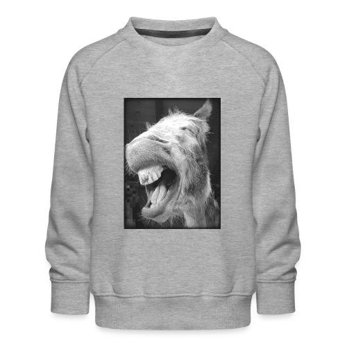 lachender Esel - Kinder Premium Pullover