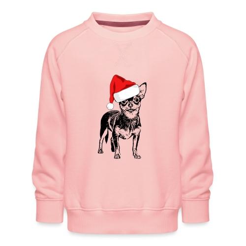 Weihnachten Chihuahua Hunde Geschenk Geschenkidee - Kinder Premium Pullover