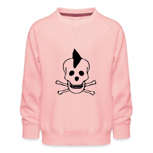 skull totenkopf punk - Kinder Premium Pullover