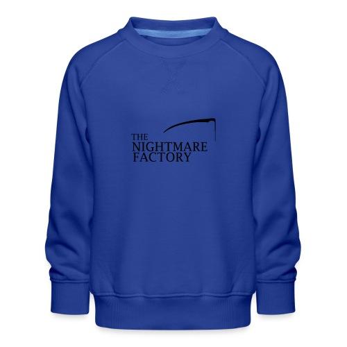 nightmare factory Nero png - Kids' Premium Sweatshirt