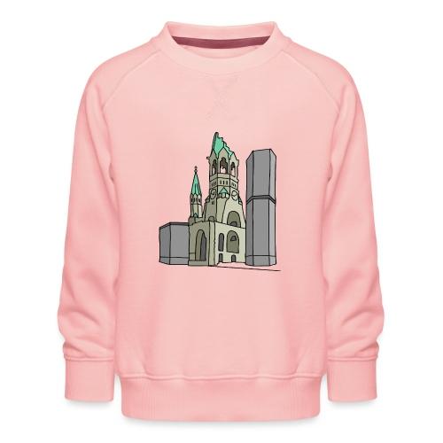 Église du Souvenir de Berlin c - Sweat ras-du-cou Premium Enfant