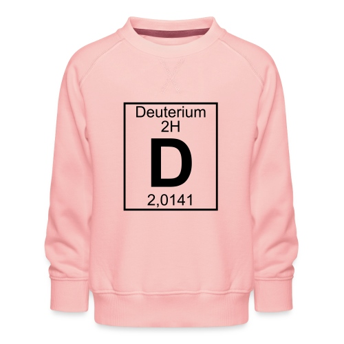 D (Deuterium) - Element 2H - pfll - Kids' Premium Sweatshirt