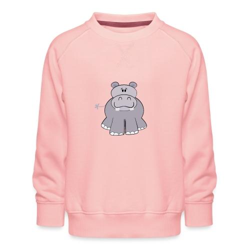 Nijlpaard - Kinderen premium sweater
