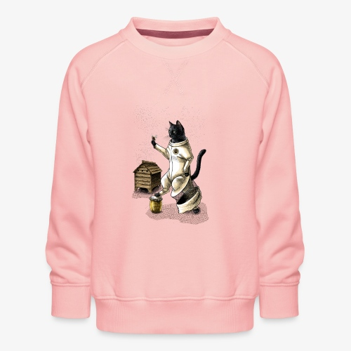 Cat Beekeeper - Kids' Premium Sweatshirt
