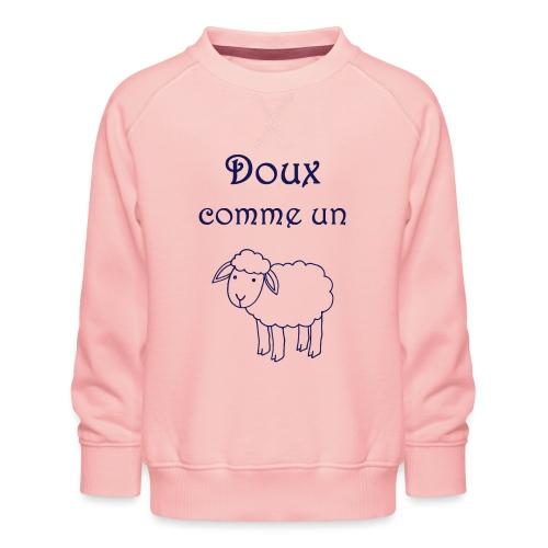 doux-comme-un-agneau-2 - Sweat ras-du-cou Premium Enfant