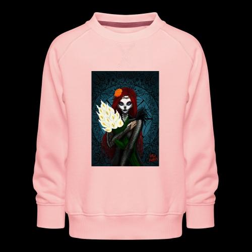 Death and lillies - Kids' Premium Sweatshirt