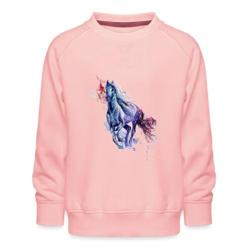 Cute horse shirt - Børne premium sweatshirt
