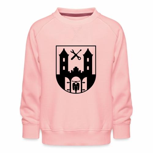 Simson Schwalbe - Suhl Coat of Arms (1c) - Kids' Premium Sweatshirt