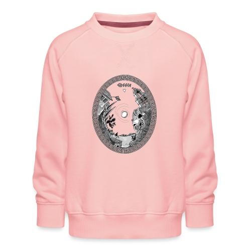 Grieks tafereeltje - Kinderen premium sweater