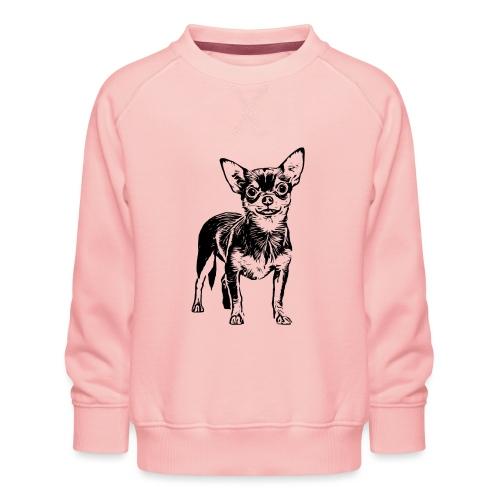 Chihuahua Hunde Design Geschenkidee - Kinder Premium Pullover