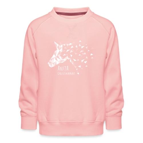 Anita Girlietainment Weiß - Kinder Premium Pullover