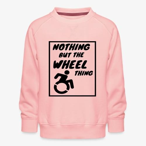 > Het echte rolstoel leven - Kinderen premium sweater