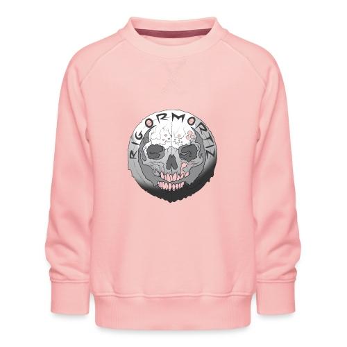 Rigormortiz Black and White Design - Kids' Premium Sweatshirt