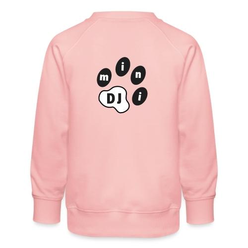 DJMini Logo - Børne premium sweatshirt